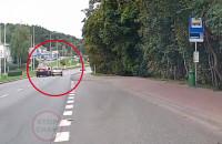 Zablokowali BMW odjeżdżające po zderzeniu z motocyklistą