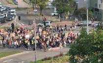 Strajk klimatyczny Grunwaldzka/Wojska...