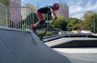 Park Centralny w Gdyni z nowym placem zabaw i fontanną