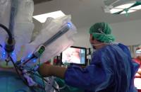 Robot medyczny Da Vinci w gdańskim szpitalu
