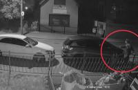 Porysował samochód, nagrała go kamera