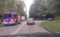 Stłuczka na skrzyżowaniu ul. Marszewskiej...