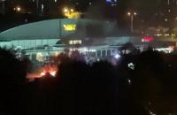 Pożar auta na Zaspie