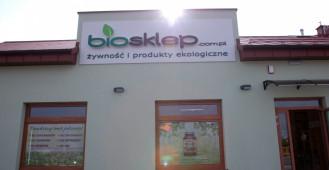 BioSklep - sklep ekologiczny w nowej lokalizacji. Bojano ul. Miła 22