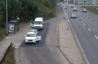Nieoznakowana drogówka zatrzymała auto na Trasie WZ