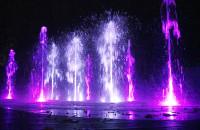 Piękne kolory nowych fontann w Gdyni