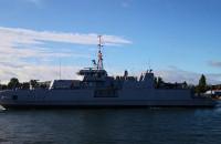 Okręt NATO wpływa do Gdańska