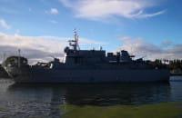 Łącznie siedem okrętów NATO na Westerplatte
