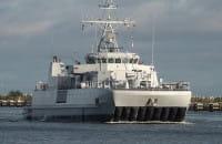 Okręty NATO wpływają do portu w Gdańsku