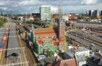 Kolorowy dach dworca. Odtworzono oryginalny wygląd
