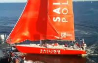 Kolizja jachtu VO 65 Sailing Poland