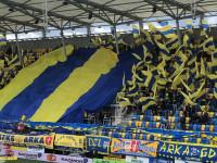 Arka Gdynia - ŁKS Łódź 0:0. Oprawa