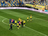 Arka Gdynia - ŁKS Łódź 0:0. Podziękowania