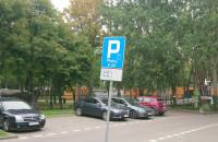Parkowanie na trawie, żeby nie płacić za parking