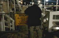 Zamykają wejścia na ostrogę molo w Sopocie