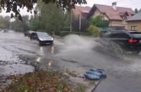 Zalana ulica w Osowej