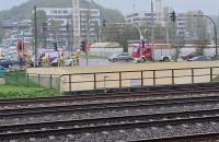 Wypadek na skrzyżowaniu Śląskiej i Kieleckiej w Gdyni