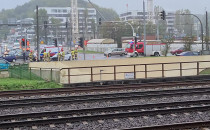 Utrudnienia po wypadku na Śląskiej w Gdyni