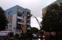 Interwencja strażaków przy ul. Ciołkowskiego