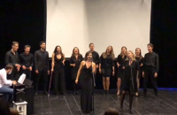 Studenci studium wokalno-aktorskiego