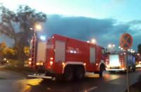 Straż pożarna przy Galerii Zaspa