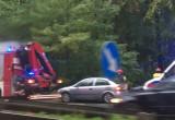 Wypadek na leśnym odcinku Słowackiego
