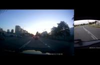 Pirat drogowy w Audi