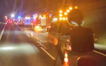 Wypadek z udziałem wojskowej ciężarówki