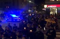 Tłum na Starowiejskiej, trwa protest w obronie praw kobiet