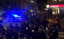 Tłum na Starowiejskiej, trwa protest w...