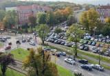 Kierowcy biorą udział w demonstracji ws. praw kobiet w Gdańsku