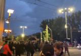 Protestujący pod Urzędem Miasta w Gdyni