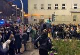 Protest w Gdyni. Kierowcy i piesi na ulicach
