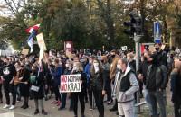Trwa protest ws. praw kobiet w centrum Gdańska