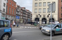 Kierowcy biorą udział proteście ws. praw kobiet w Gdańsku
