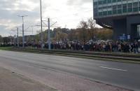 Protest zmierza w stronę Targu Drzewnego