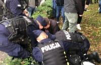 Interwencja policji na proteście w Gdańsku