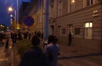 Protest pod komendą policji w Gdańsku
