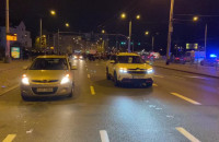 Protestujący blokują al. Zwycięstwa w Gdyni