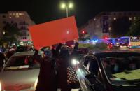 Marsz wymieszał się z kierowcami w Gdyni