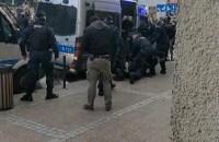 Interwencja Policji na gdańskim proteście