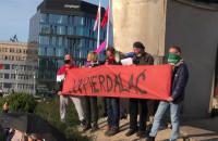 Happening na pl. Solidarności