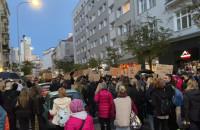 Trwa protest na Starowiejskiej
