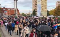 Protest blokuje Wały Piastowskie przy...