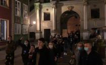 Część manfestantów nadal protestuje