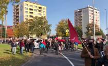 Marsz o prawa kobiet na ulicach Gdańska
