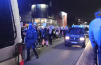 Blokada ulic w centrum Gdańska