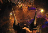 Dwie manifestacje pod katedrą
