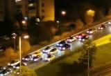 Protest kierowców  na Al. Rzeczypospolitej