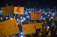 Poniedziałkowy Marsz Kobiet w Gdańsku